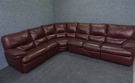 L Shape Sofa With Recliner